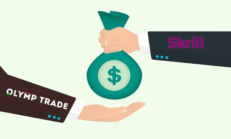 Hướng Dẫn Nạp Tiền Tài Khoản Olymp Trade Bằng Ví Skrill