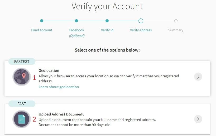 How to verify location