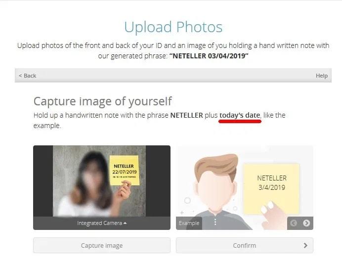 از خود عکسی بگیرید که یادداشتی را درخواست کرده است که نتلر درخواست کرده است