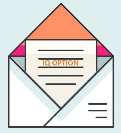 ایمیل را در IQ Option