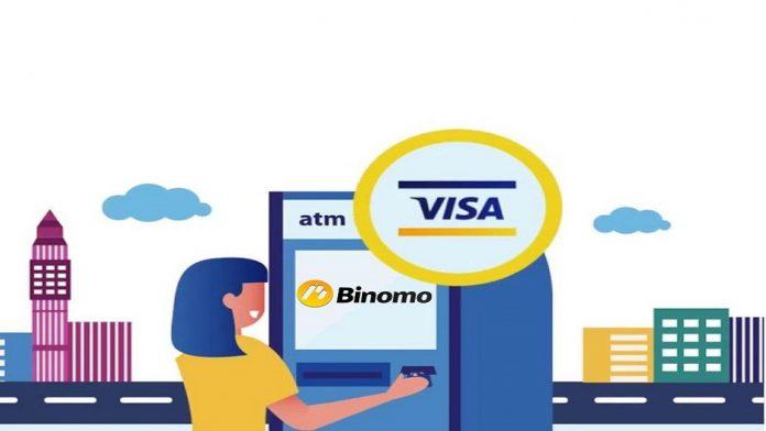 hướng dẫn rút tiền từ Binomo về thẻ VISA/MasterCard
