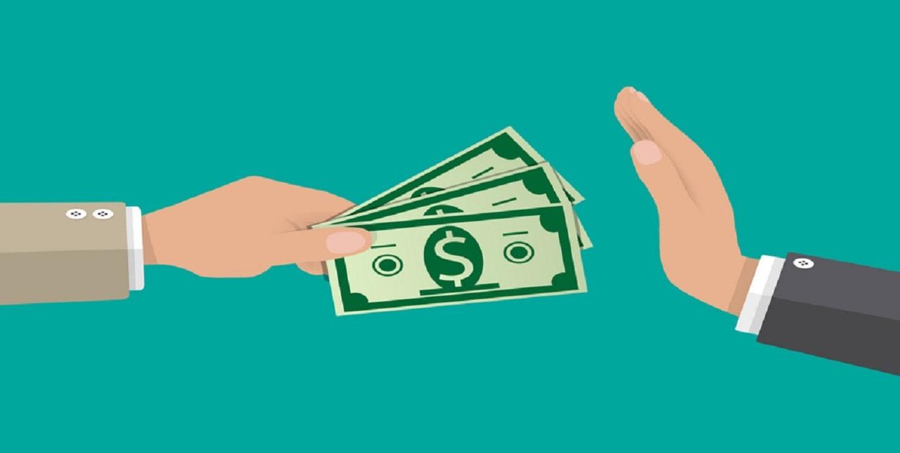 Ngân hàng từ chối nhận tiền lợi nhuận từ Olymp Trade