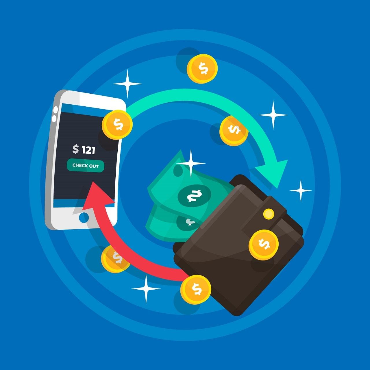 Bạn muốn rút tiền về qua ví điện tử mặc dù đã nạp tiền từ thẻ VISA và ngược lại?
