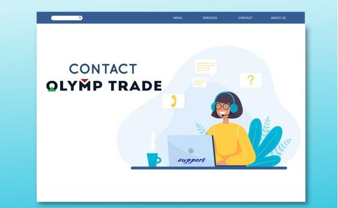 Hướng dẫn liên hệ hỗ trợ Olymp trade chi tiết nhất