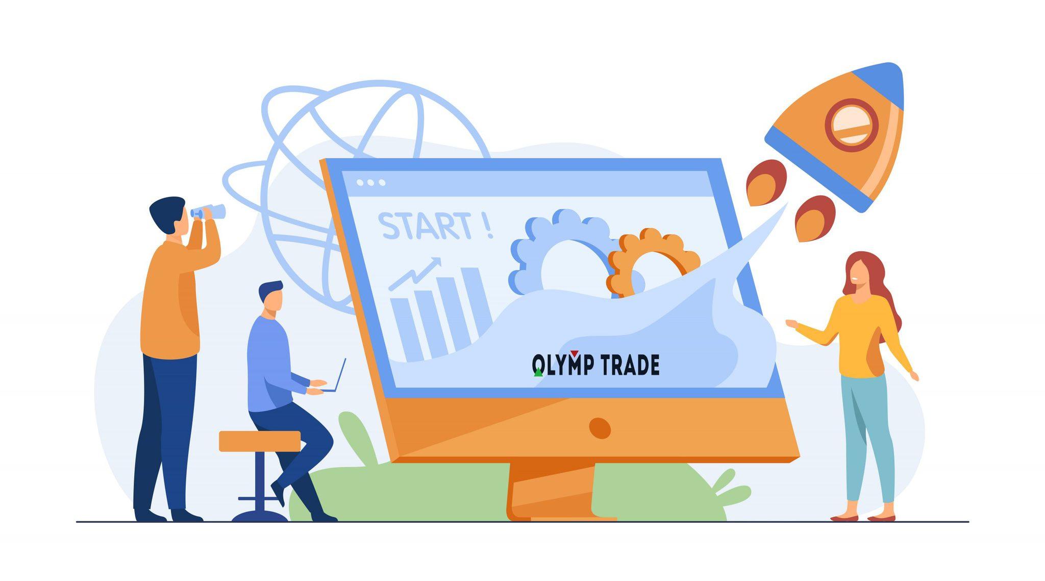 Tài khoản starter tại Olymp Trade