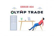 Lỗi đăng nhập tài khoản Olymp Trade