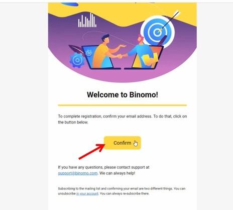 Lấy liên kết xác nhận email