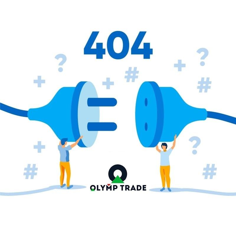 Conta inesperada da Olymp Trade bloqueada