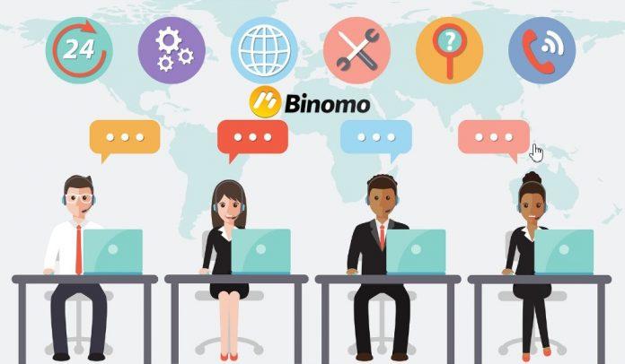Cara Menghubungi Dukungan di Binomo (memperbarui 03/2021)