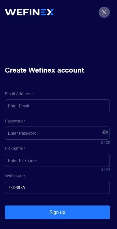 Đăng ký tài khoản Wefinex - Wefinex là gì?