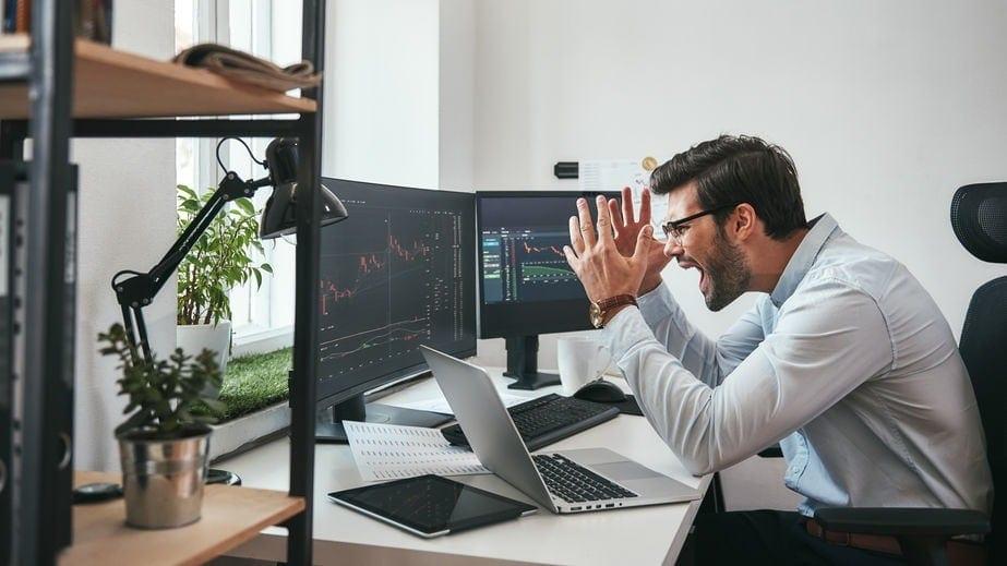 Anger in trading - IQ Option trading log