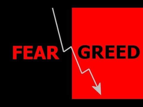 Fear is greater than greed