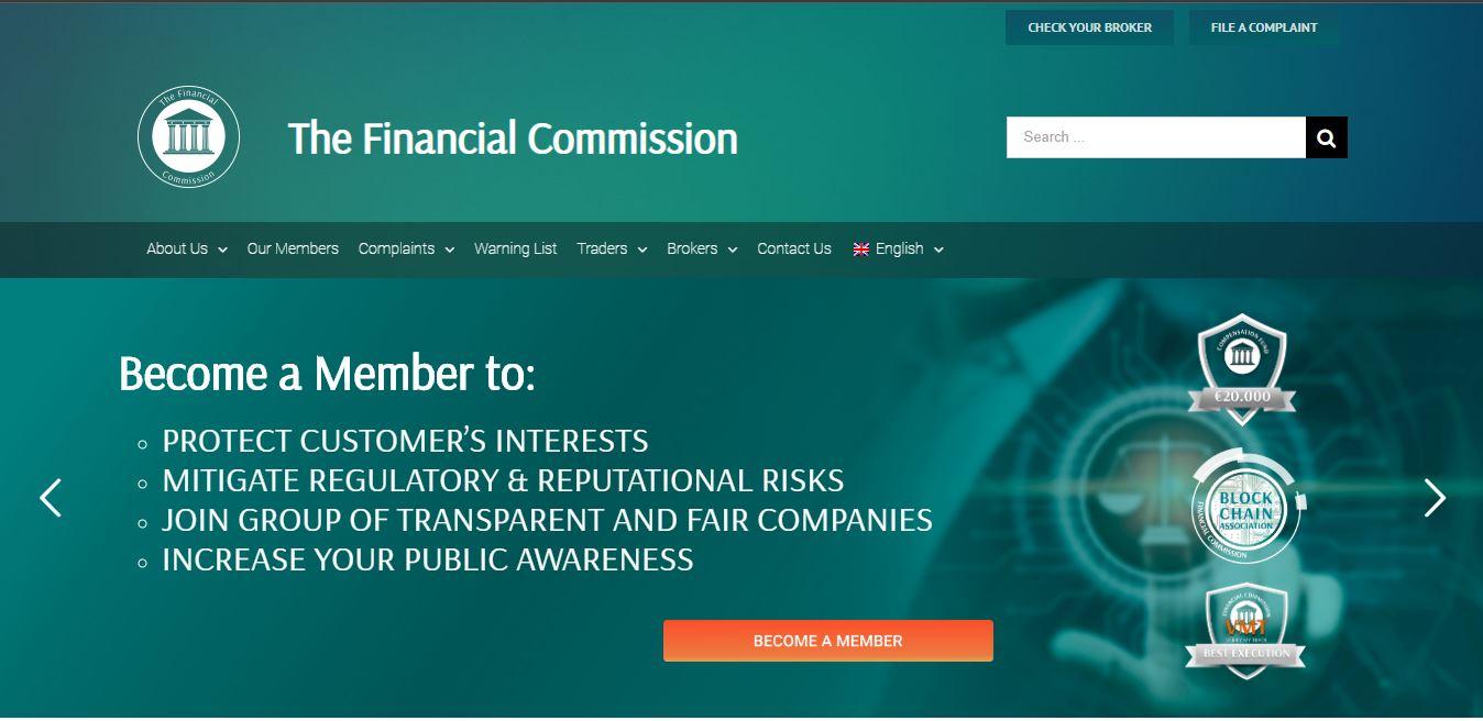 Apresentar uma queixa à Comissão Financeira para resolução de disputas