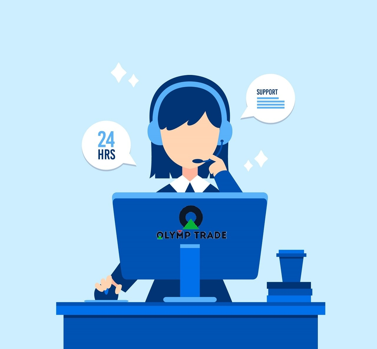 Contact the platform support to solve complaints