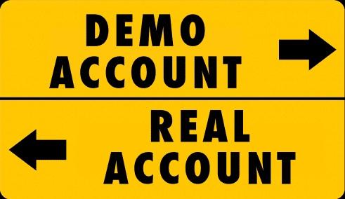 Tài khoản Demo và Real khác nhau