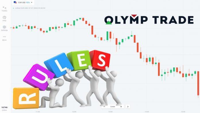 5 nguyên tắc cơ bản khi giao dịch Olymp Trade