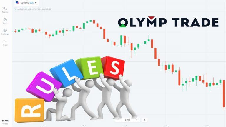 5 Nguyên Tắc Cơ Bản Khi Giao Dịch Olymp Trade (Seri 1/20)