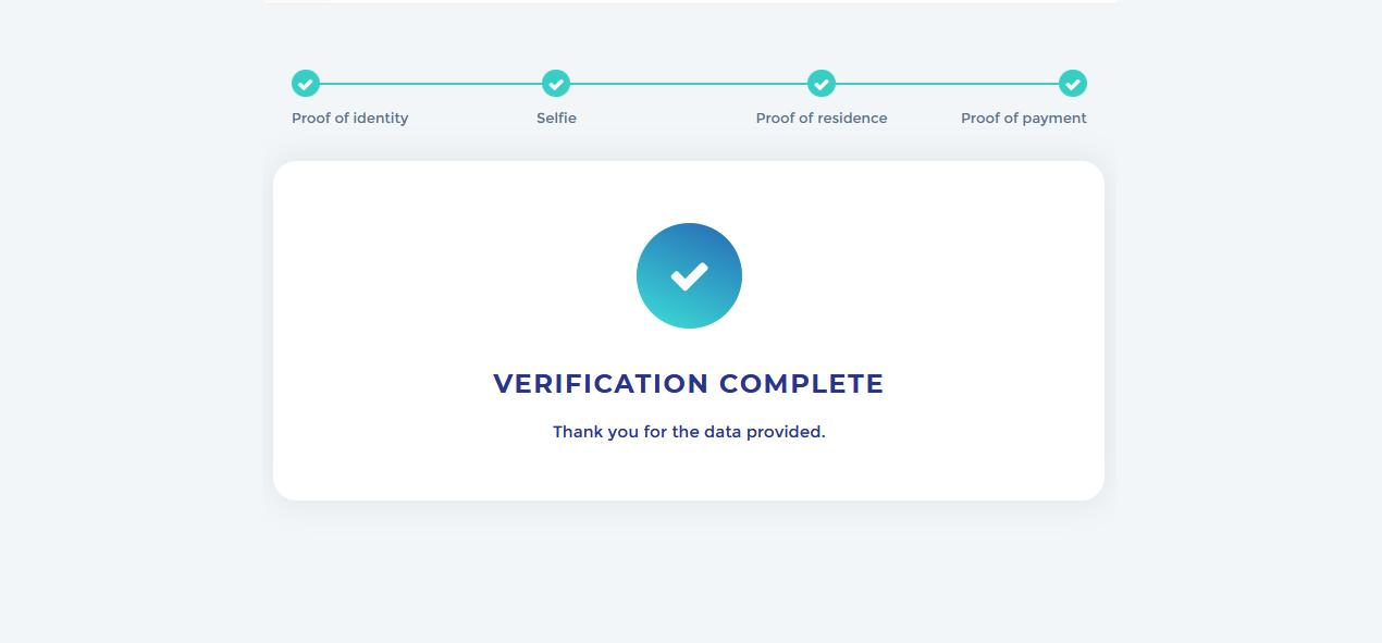 Verify your identity in Olymp Trade