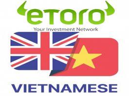 Hướng Dẫn Cài Đặt Ngôn Ngữ Tiếng Việt Trên Etoro cho PC lẫn Smart Phone