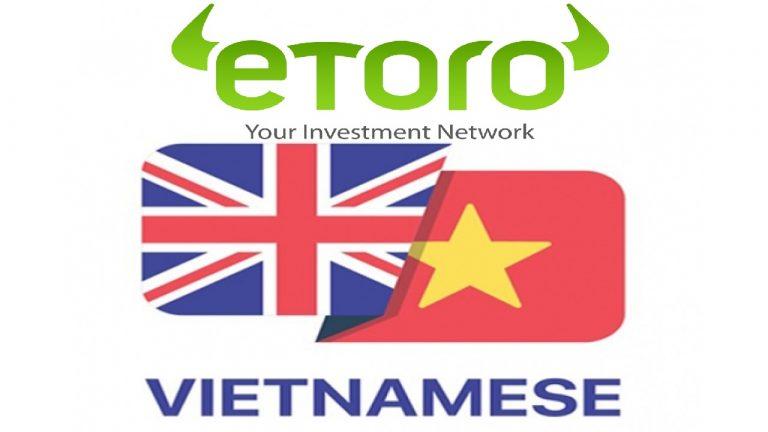 Hướng Dẫn Cài Đặt Ngôn Ngữ Tiếng Việt Trên Etoro cho PC Và Smartphone