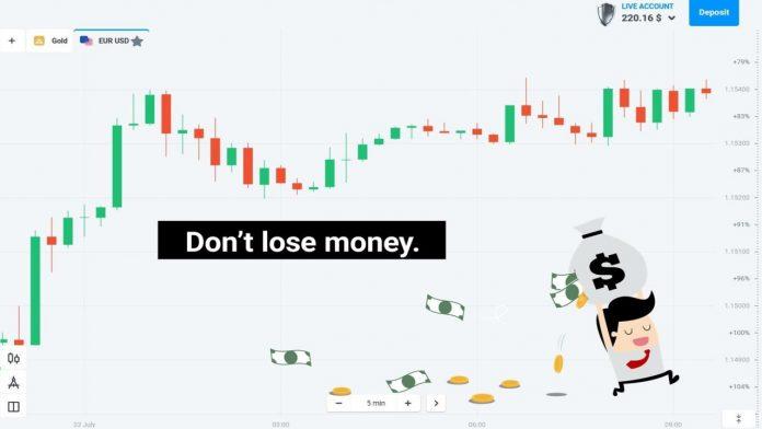 Tại sao không được để mất tiền tại Olymp Trade?