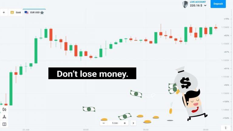 Không được phép mất tiền tại Olymp Trade (Seri 11/20)
