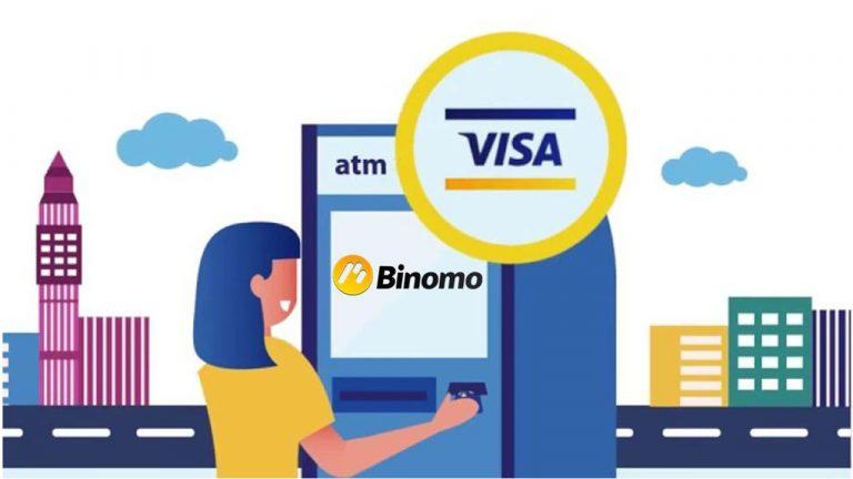Cara Menarik Uang Dari Binomo ke Visa/Mastercard