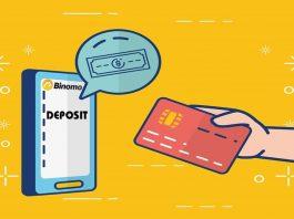 Cara Deposit Uang Ke Binomo Dengan Visa/Mastercard