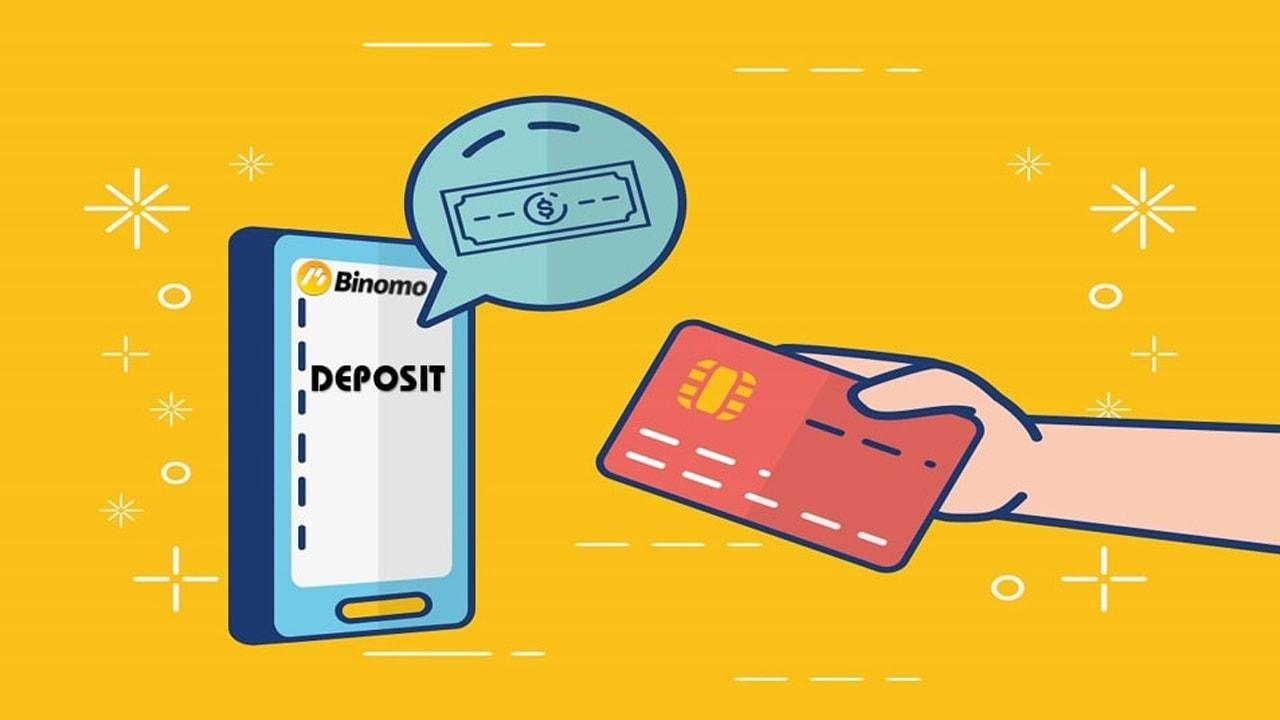 Cara Deposit Uang Ke Binomo Dengan Visa/Mastercard 03/2021