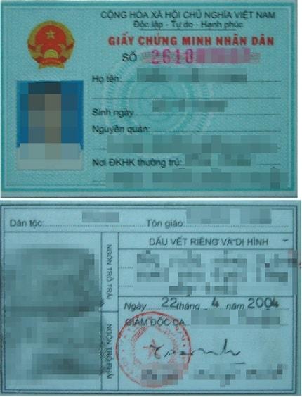 Mengunggah foto kartu identitas untuk memverifikasi identitas