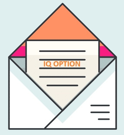 Verifikasi email di IQ Option