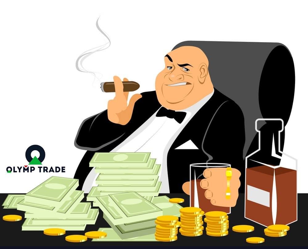 Olymp Trade là nơi giúp bạn giàu nhanh