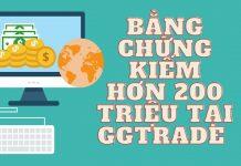 Bằng Chứng Kiếm Tiền Hơn 200 Triệu Trong Ngày Tại GGtrade - Ngày 8
