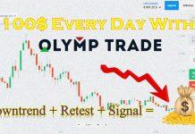 Kiếm 100$ Mỗi Ngày Tại Olymp Trade Với Downtrend