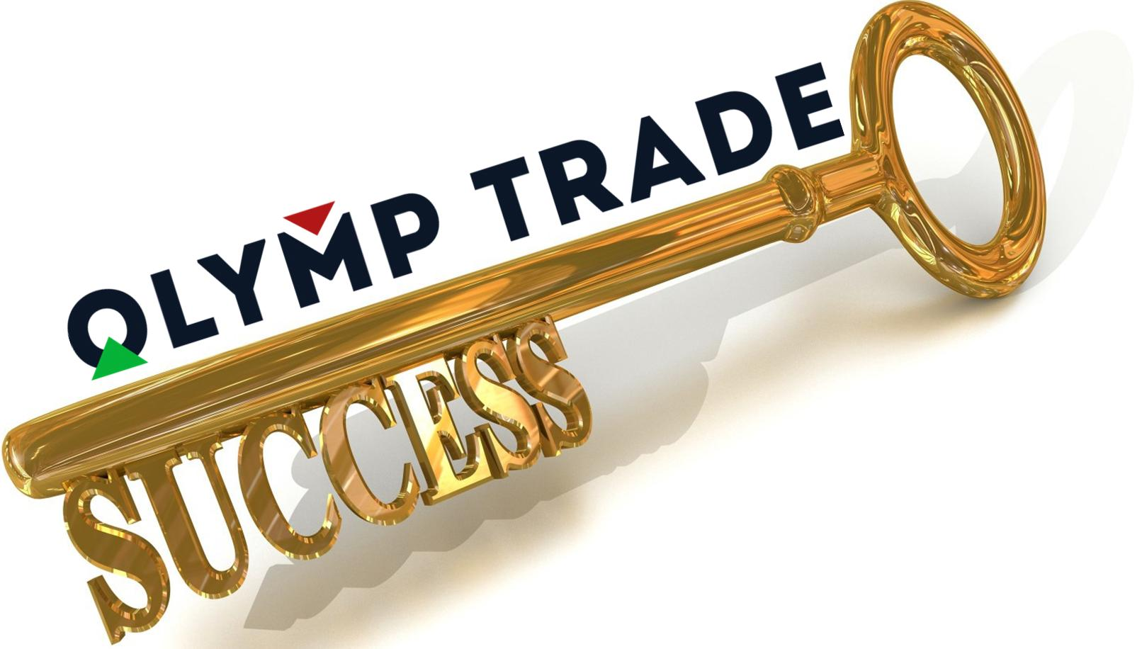 The key to success in Olymptrade