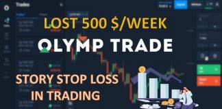 Lần Đầu Thua Hơn 500$/Tuần Tại Olymp Trade: Thắng Thua Là Chuyện Thường. Quan Trọng Là Điểm Dừng