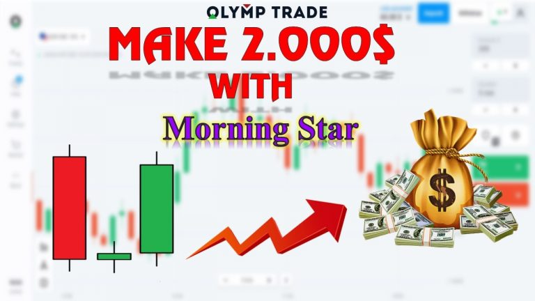 How To Use Morning Star Pattern To Earn $2000/Week In Olymp Trade