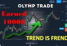 Mẹo Kiếm Tiền Tại Olymp Trade: Trend Và Kỷ Luật Là Bạn Sẽ Có Tiền