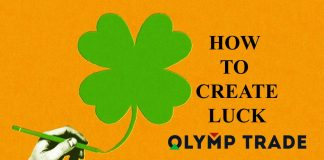 Luck in Olymp Trade trading: Let's create it