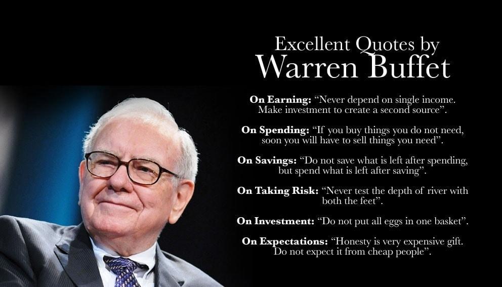 Warren Buffett - The great investor