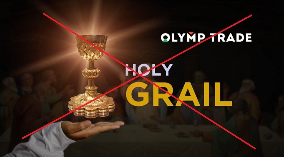 Never put all your faith in an Olymp Trade trading strategy