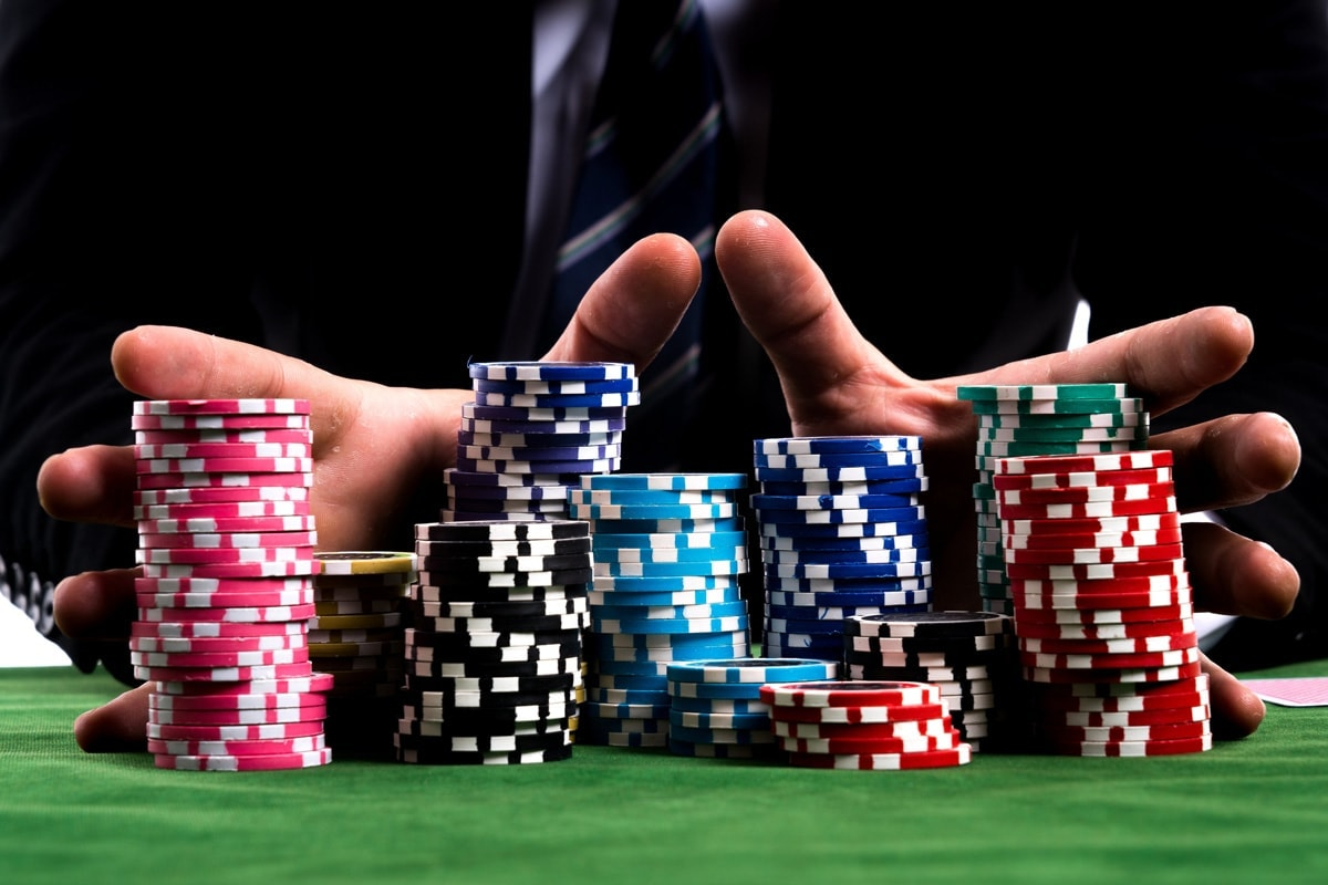 Betting all your capital on a transaction is like gambling