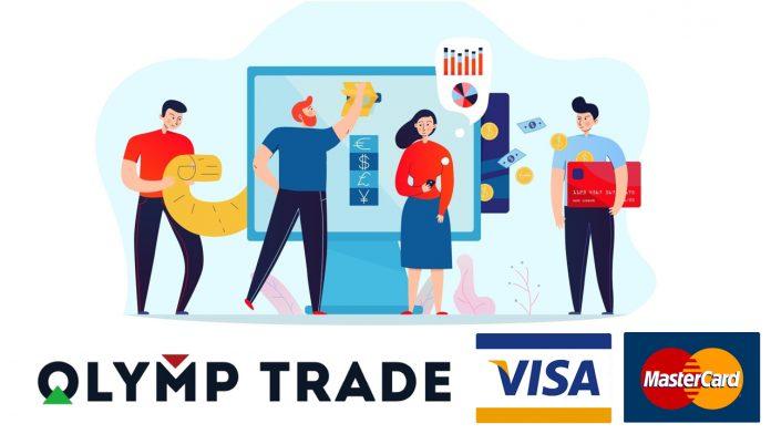 Cara Deposit Olymp Trade Dengan Visa dan Mastercard