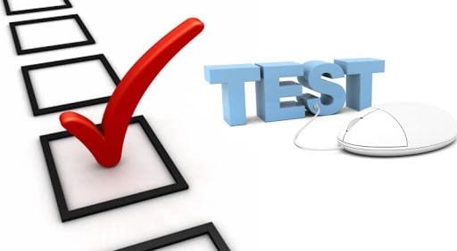 Ikuti ujian saat latihan