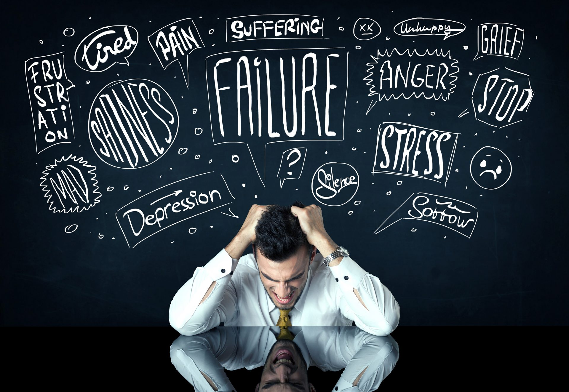 Ketakutan pada kegagalan adalah penyebab kegagalan di IQ Option