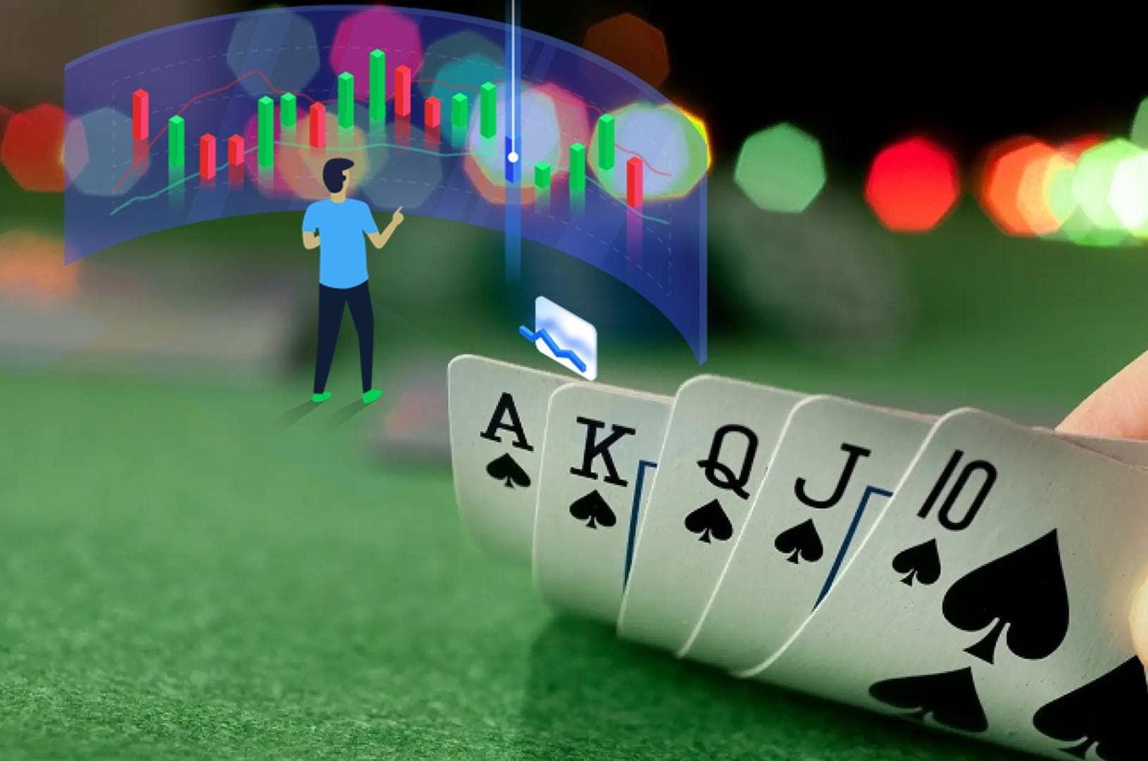 Poker dan perdagangan