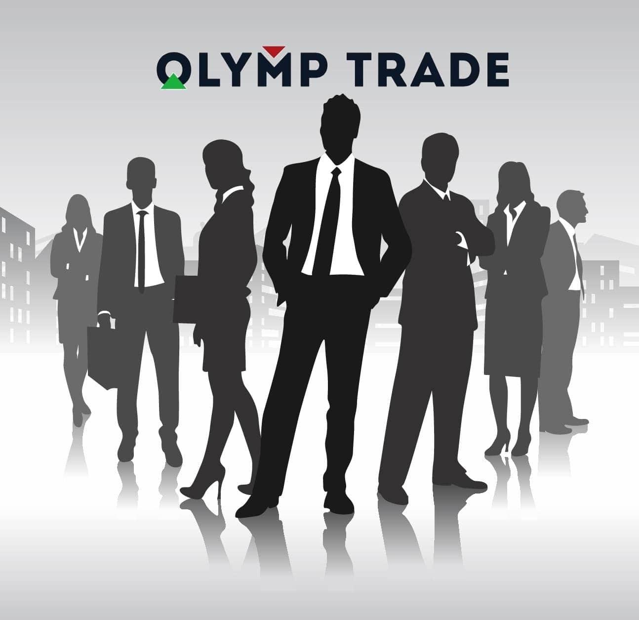 Akun expert di Olymp Trade