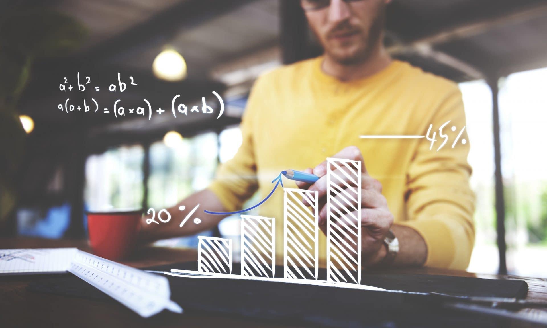 Os comerciantes profissionais entendem o aspecto matemático por trás do sucesso de sua carreira de negociação Forex