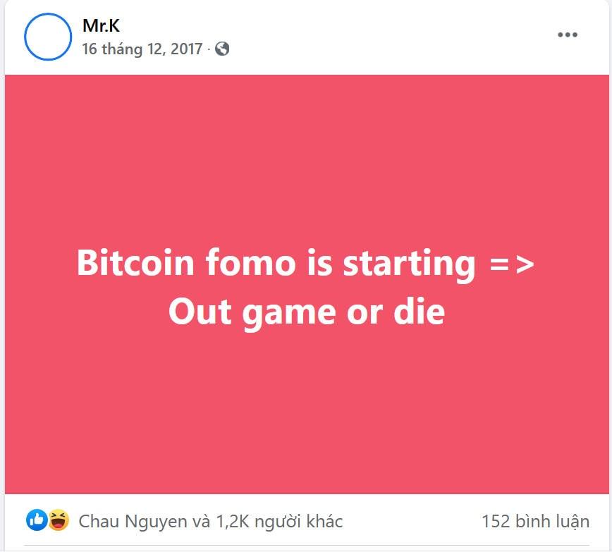 Caption cảnh báo về Bitcoin