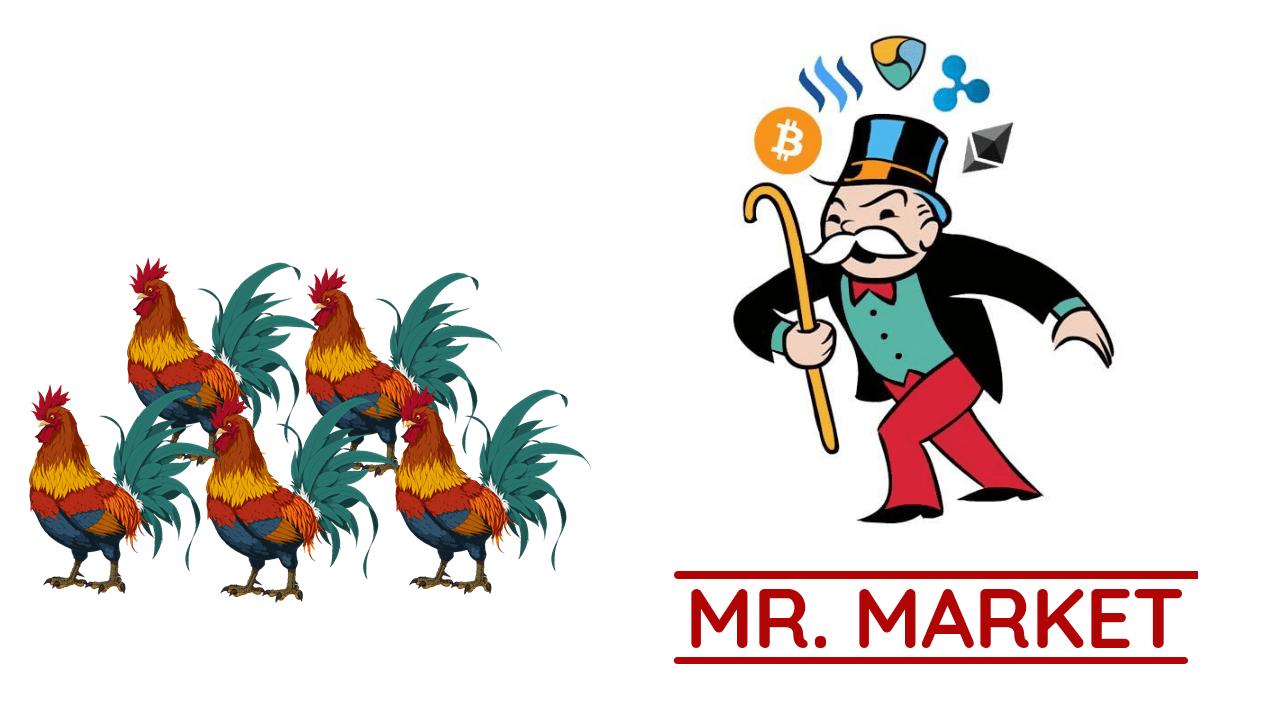 Mr.Market rất thích món thịt gà
